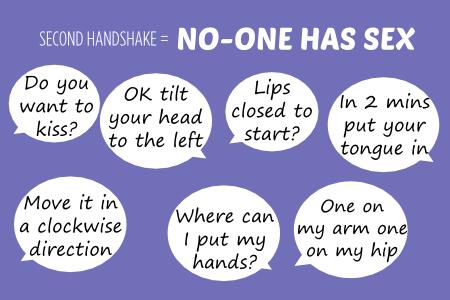 Bish second handshake no-one has sex