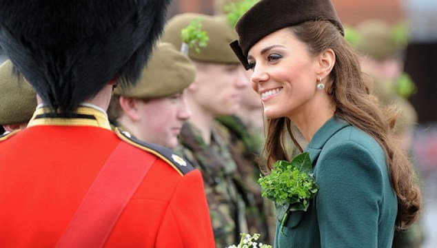 duchess kate on st. patricks day