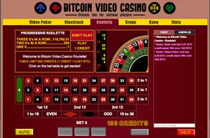 Bitcoin Video Casino roulette