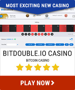 Bitdouble.io most exciting new casino