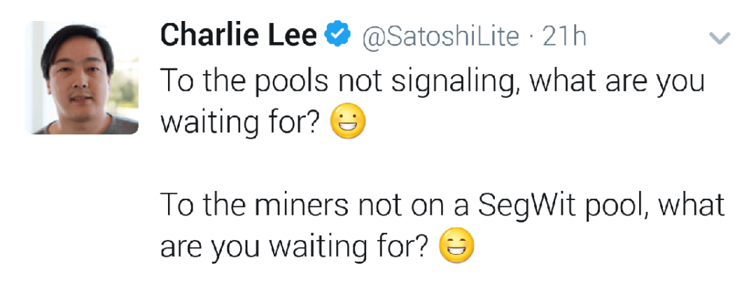 Charlie Lee Campaigns For SegWit On Litecoin