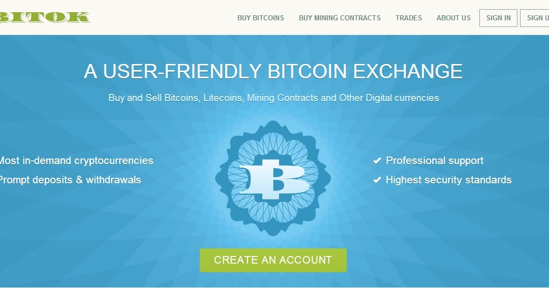 Uk Based Bitcoin, Cryptocurrency And Fiat Exchange Bitok.com Launches Serving Traders Worldwide