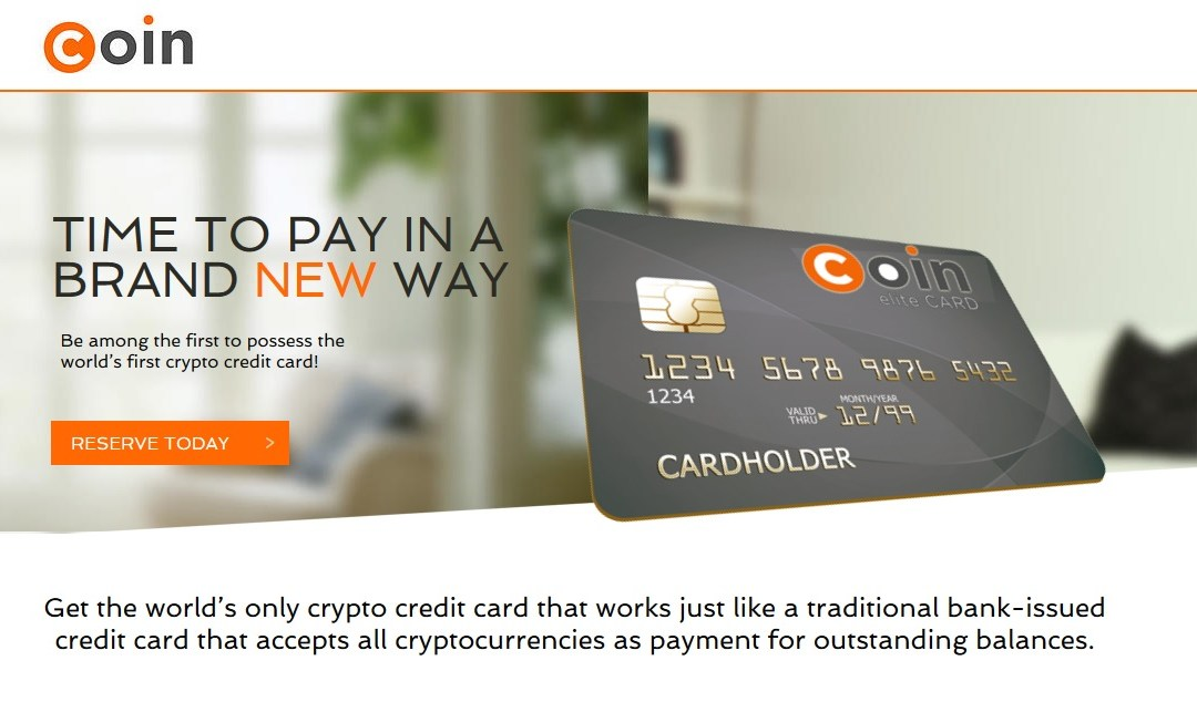 UPDATE: CoinCard, The World's First Crypto-Based Credit Card Met With Strong Response at Launch