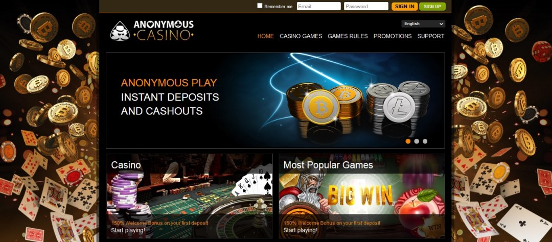 anonymous-casino screenshot