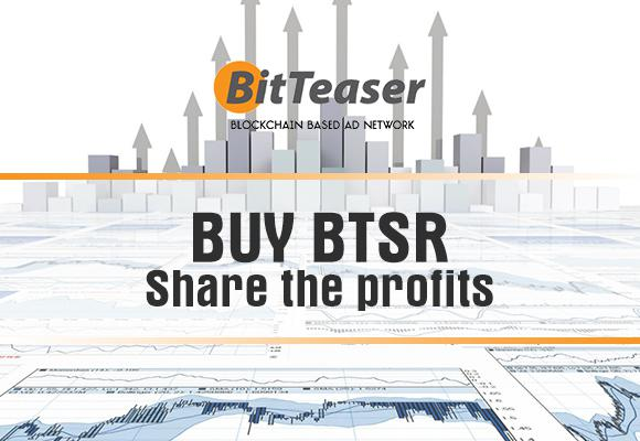 Top Blockchain Advertising Network BitTeaser Shares Revenue With BTSR Holders – Latest OBITS, OpenLedger and CCEDK Initiative