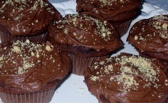 Chocolate Cupcakes for Father's Day