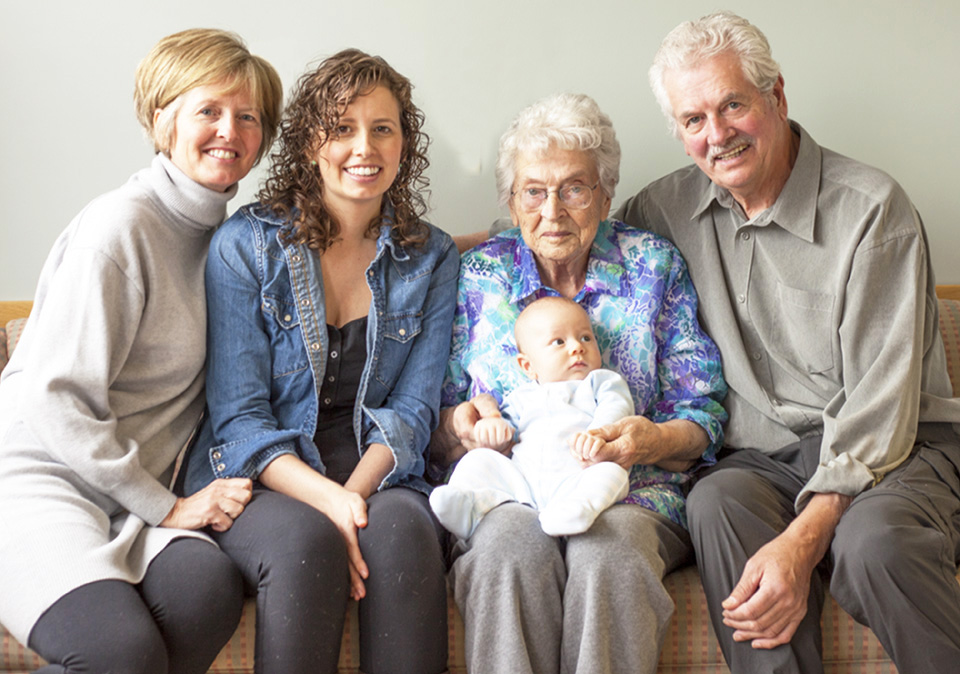 five generations and a Christmas soup