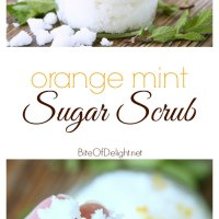 Orange Mint Sugar Scrub