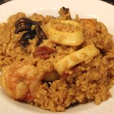 Seafood rice recipe