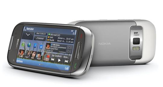 Nokia C7 Nokia lanza tres nuevos smartphones con Symbian^3:  C6, C7 y E7