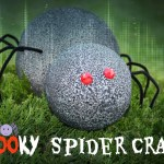 Spooky Spider Craft