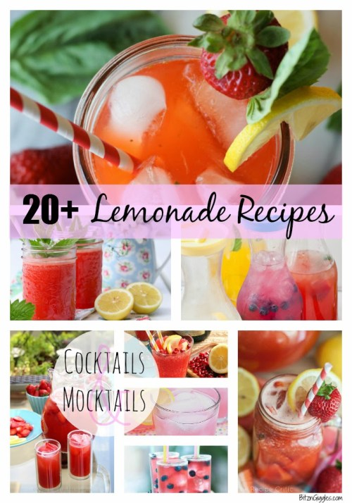 20+ Lemonade Recipes - Bitz & Giggles
