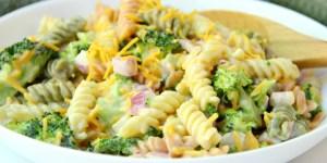 Cheddar Broccoli Pasta Salad