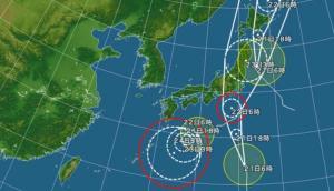 トリプル台風