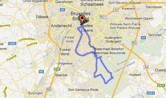 Brusselles Map