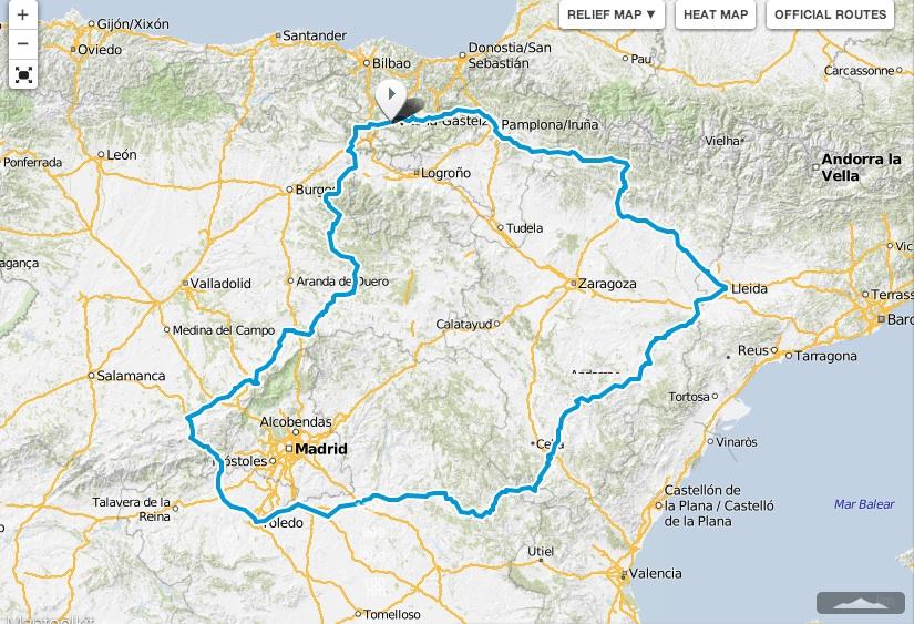 Mapa Vitoria