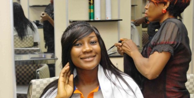 Image result for nigerian women salon