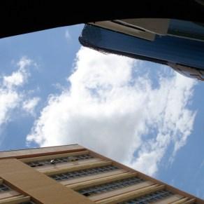 Skyen over tagene, lige syd for São Paulo, Brasilien. Foto: Bonnie Denise Christiansen