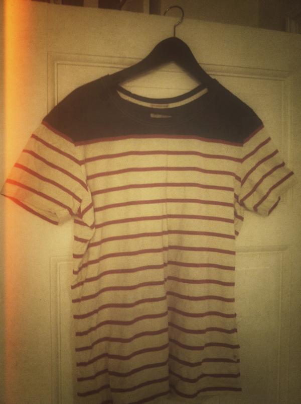 Den kortærmede trøje