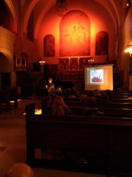 Oplæsning i Eliaskirken