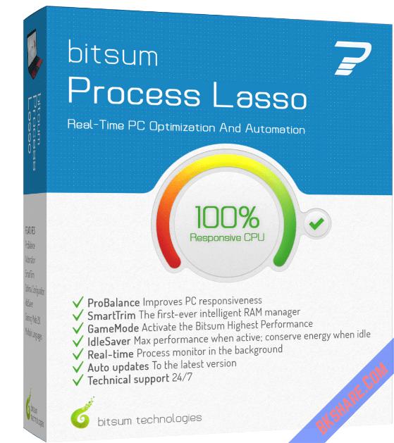 Process Lasso Pro Full Key - Khắc phục lỗi CPU 100%, treo, quá tải