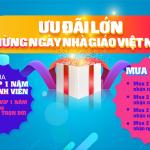 Tặng VIP vĩnh viễn – Mừng ngày nhà giáo Việt Nam