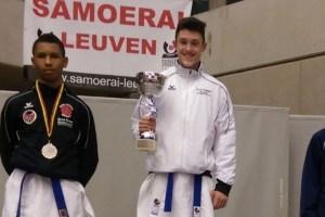 Edgard Merkine (Nippon) gewinnt die Belgien Open 2015.