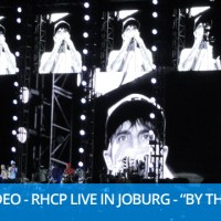"""Video: Red Hot Chili Peppers """"By The Way"""" Live in Joburg"""