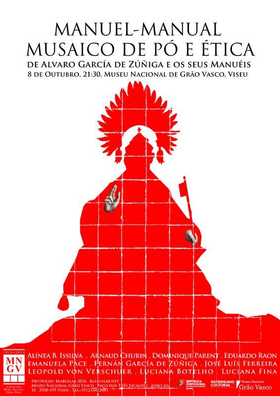 Manuel-manual musaico de pó e ética| 8 de Outubro, 21:30 – Viseu