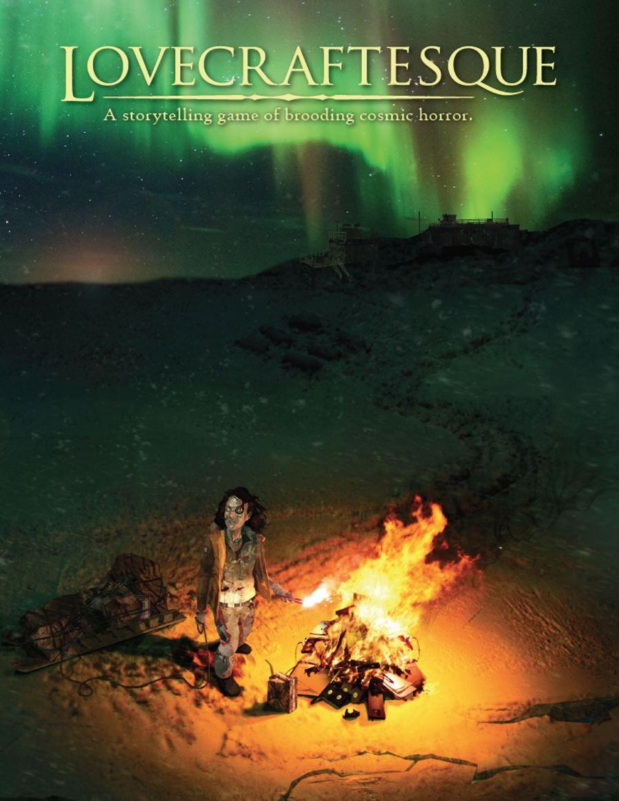 Lovecraftesque Hardcover RPG (T.O.S.) -  Black Armada