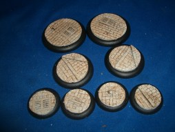 3x Victorian Street Floor 50mm base inserts