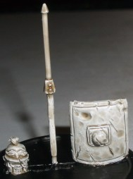 Skeleton Roman Legionary weapon sprue and head