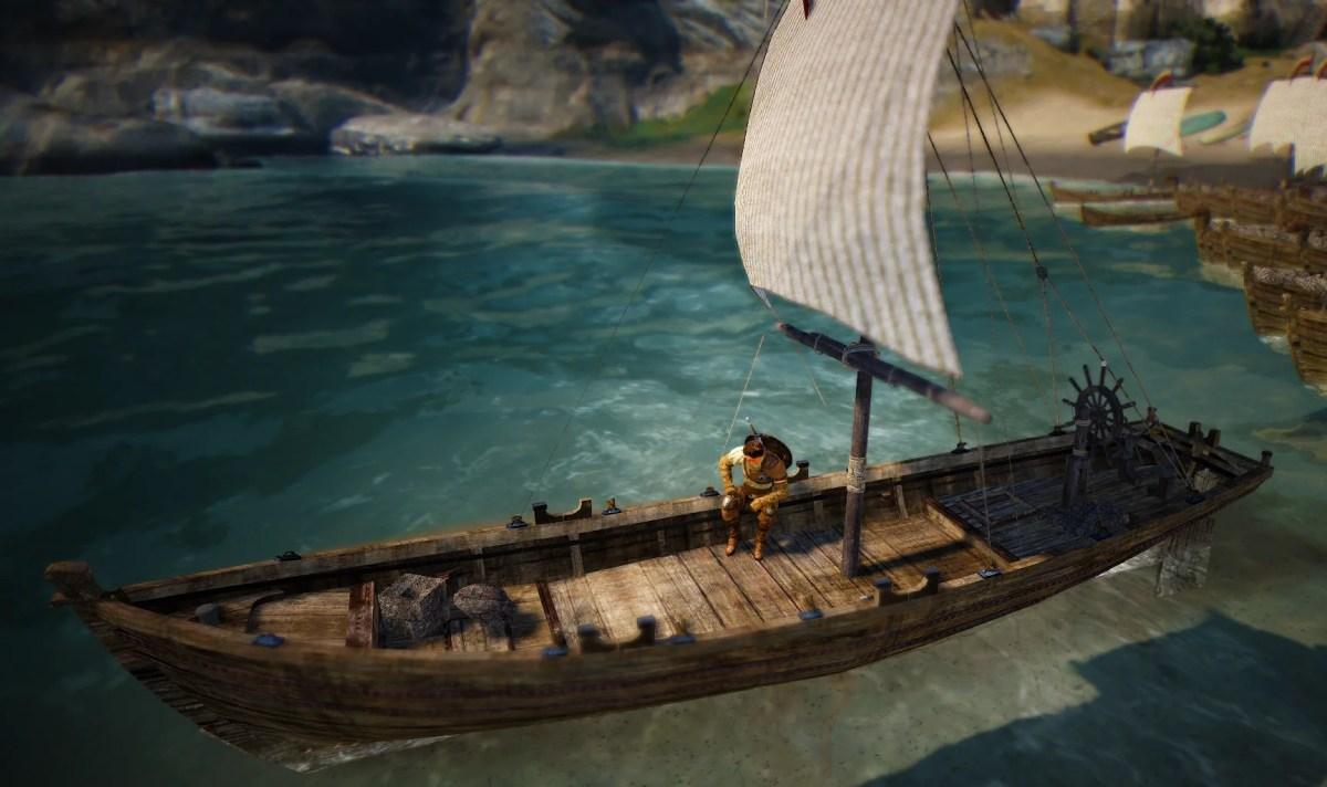 bdo рыбацкая лодка улучшения