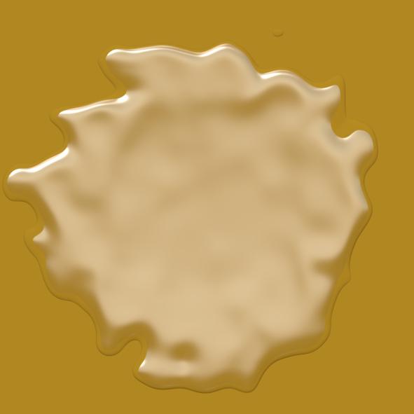 Gooey wax splat