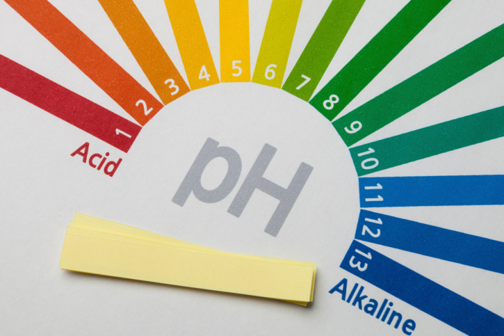acid to alkaline ph chart