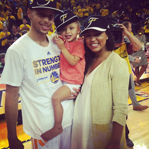steph curry and family