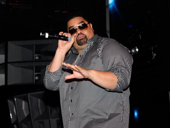 "LAS VEGAS, NV - JUNE 15: Heavy D performs onstage during the BACARDI ""Like It Live"" Las Vegas event with Cee-Lo Green, Travis Barker and Mix Master Mike held at the Marquee Nightclub at The Cosmopolitan of Las Vegas on June 15, 2011 in Las Vegas, Nevada. (Photo by Ethan Miller/Getty Images for Bacardi)"