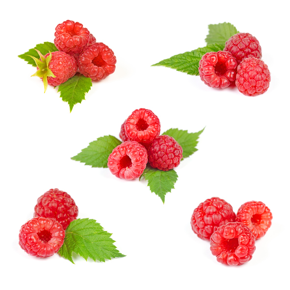 ripe raspberries