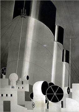 ジェラルド・マーフィー 「甲板」 1923