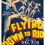 『空中レヴュー時代』 飛んでいる飛行機の翼の上でダンシング