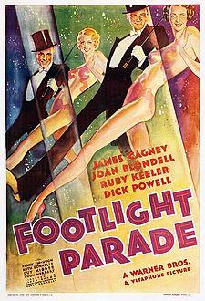 フットライト・パレード バズビー・バークレイ 1933 Footlightparadeposter