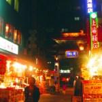 神戸のチャイナタウン 南京町の夜
