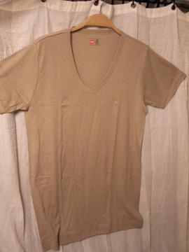 Tシャツ ベージュ