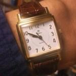 安物腕時計でも数字がかわいければオッケー