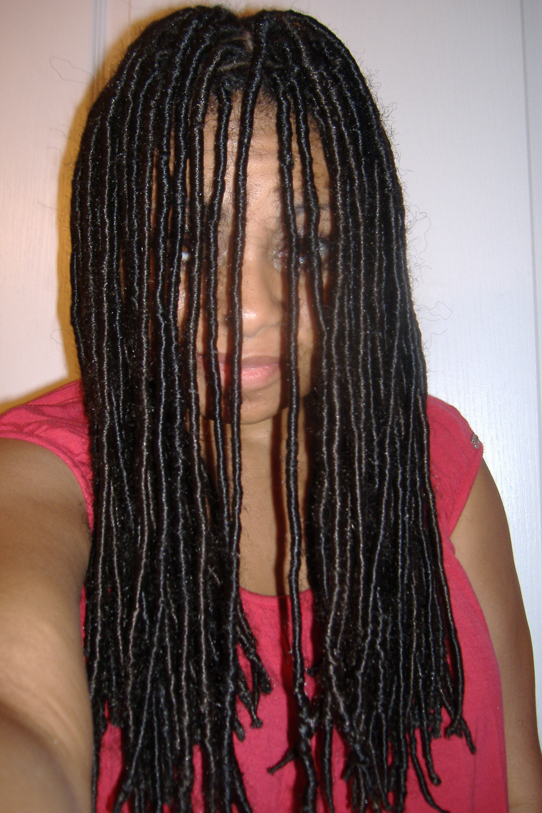How To Do Synthetic Locs Black Girl With Long Hair