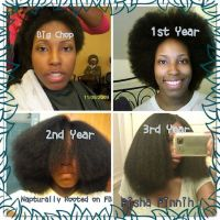 10 Inspirational Photos of Amazing Natural Hair Journeys