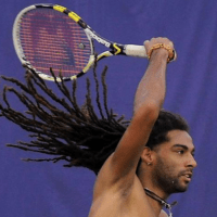 Why Loc'ed Jamaican-German Tennis Star Dustin Brown is Turning Heads