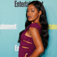 Keke Palmer Explains Why Her Hair is Half Natural, Half Relaxed