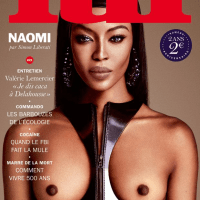 45 Year Old Naomi Campbell Goes Nude for Stunning Lui Magazine Spread