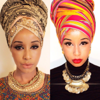 30 Gorgeous Photos of Black Women Slaying on National Headwrap Day